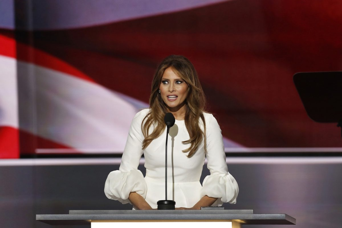 How Melania Trump's RNC Speech Went From Draft to Teleprompter
