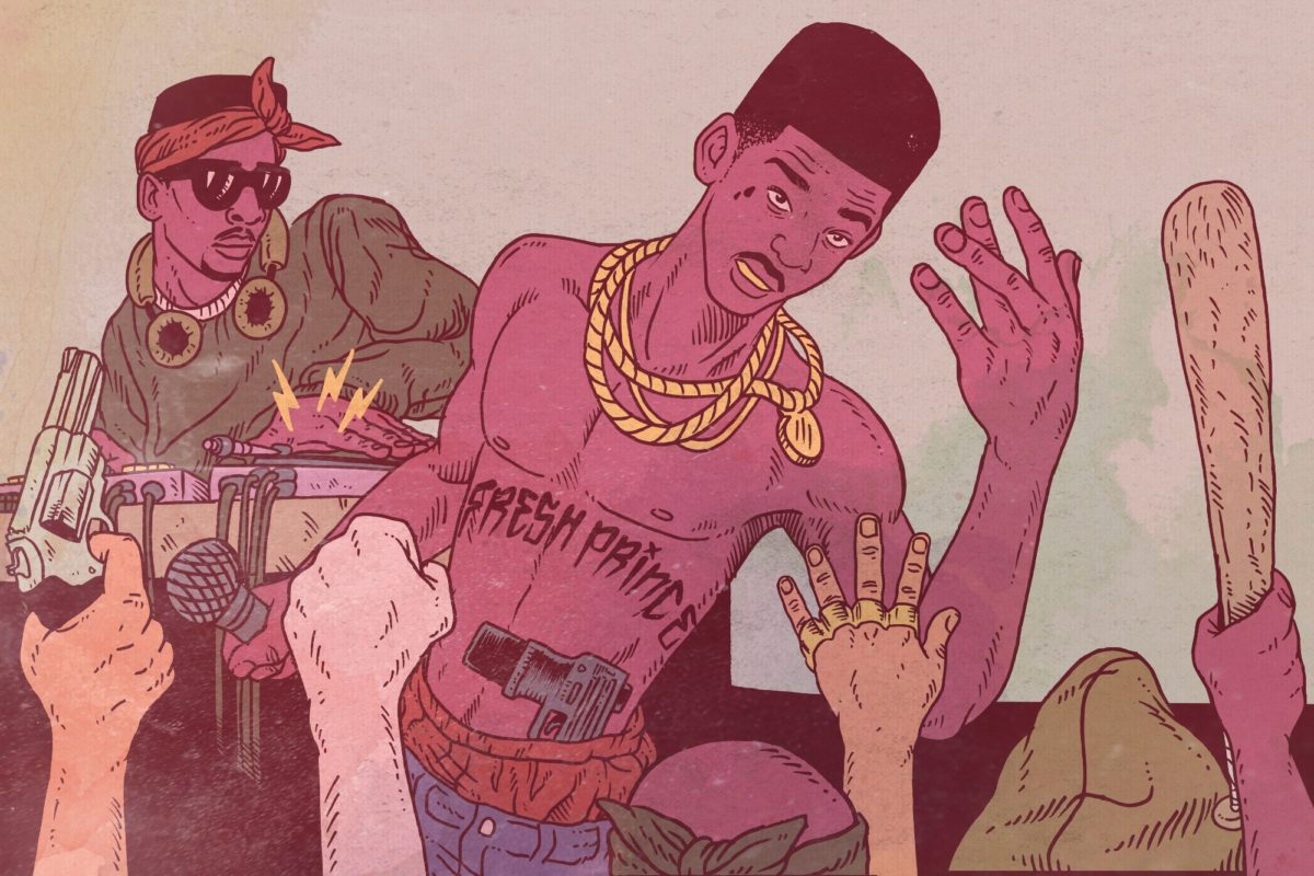 Will Smith Started As a Gangsta Rapper