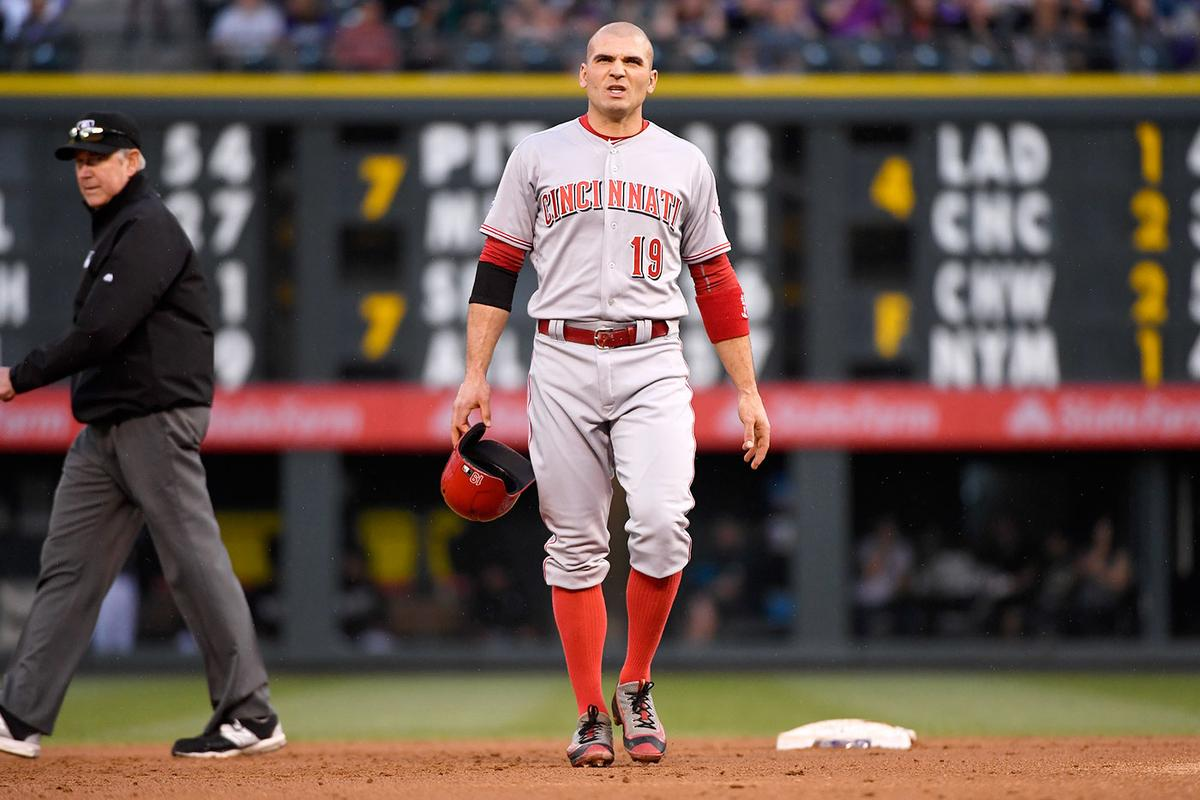 Joey Votto Must Chill
